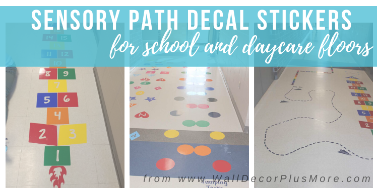 Sensory Path Decal Stickers Are HERE!   Read All The Details!