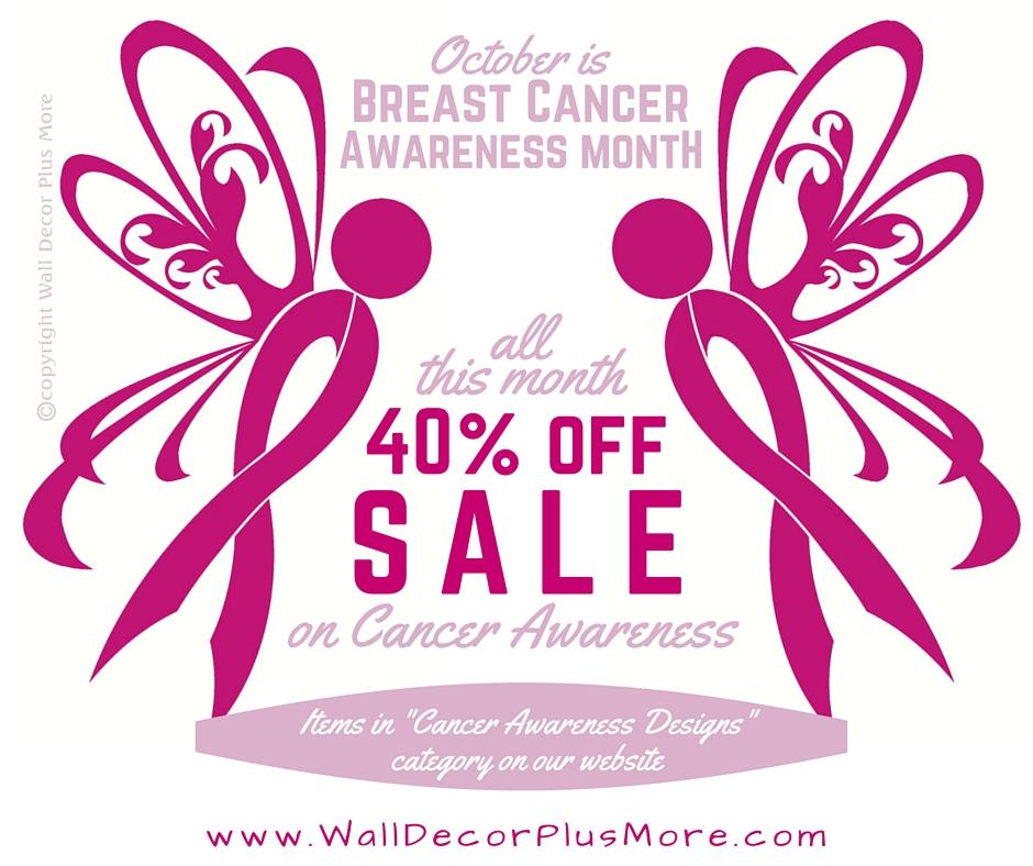 October-- Celebrate Breast Cancer Awareness Month