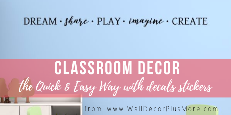 Classroom Decor the Quick & Easy Way