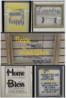 Amazing DIY Project #3 - Floating Glass Frames and Your Favorite Vinyl Decal