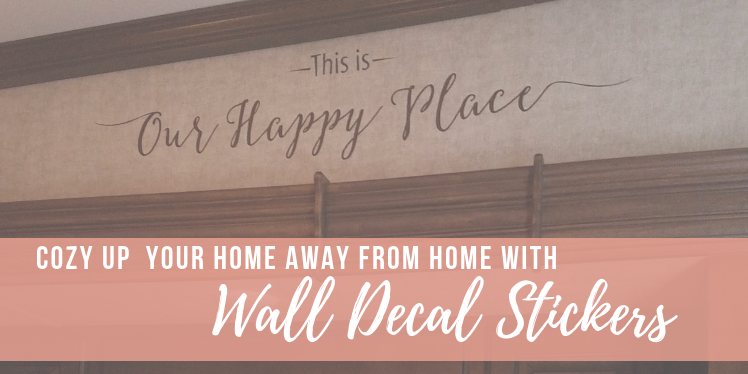 Cozy Up Your Home Away From Home With Wall Decals