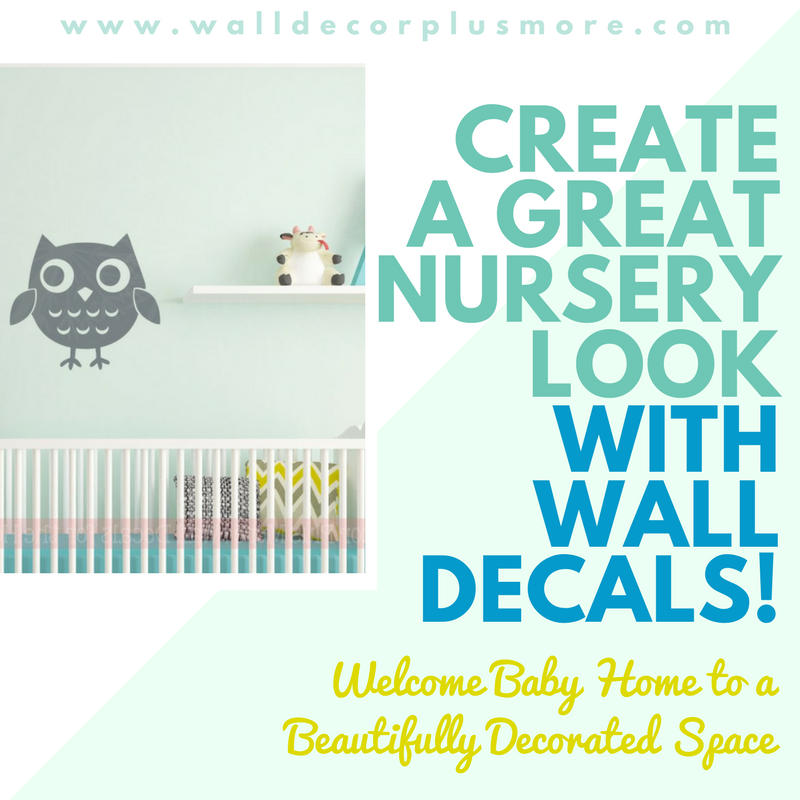 Create a Great Nursery Look with Wall Decals