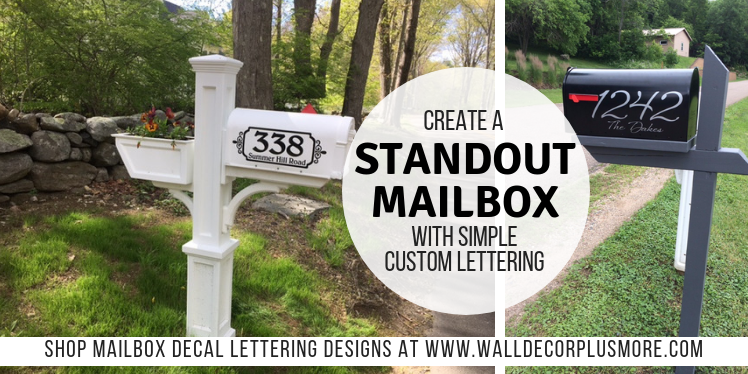 Creating a Standout Mailbox With Simple Custom Lettering!
