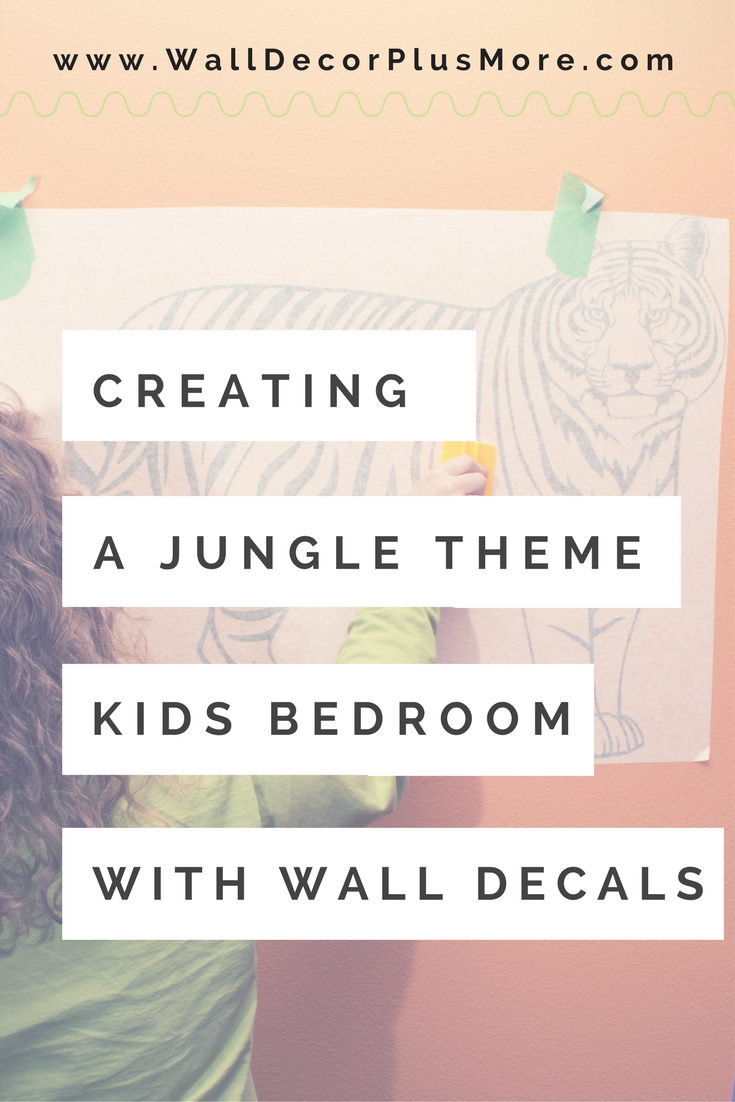 Help your Kids Show Off Their Love for Animals with these Wild Animal Wall Decal Stickers