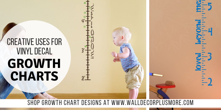 3 Creative Uses for Vinyl Decal Growth Charts