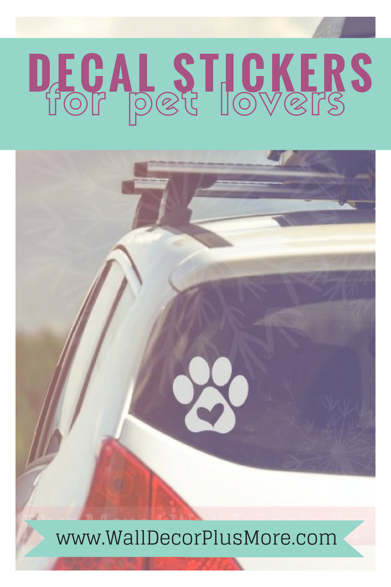 Wall Decals for Pet Lovers