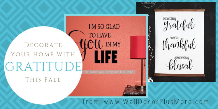 ​Attitude of Gratitude:  Grateful Wall Art and Decor for Homes