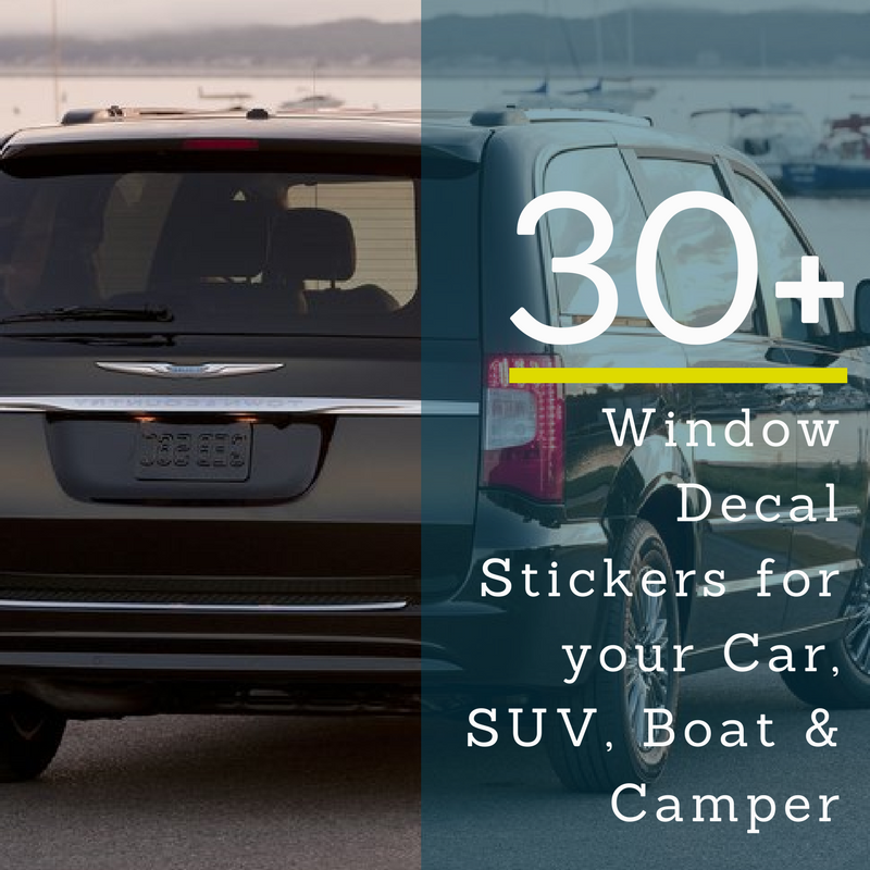 Decorate Your Ride With Fun and Self-Expressive Car Decals