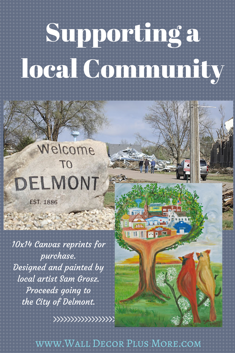 Painting for a Cause - Helping Delmont, SD