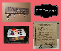 Vinyl Decals for DIY Project Gift Ideas