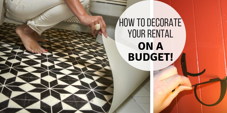 How To Decorate Your Temporary Home On A Budget