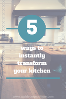 Love your Kitchen {walls}: 5 Ways to Instantly Transform Your Kitchen Walls