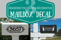 3 Reasons Why You Need Decorative Mailbox Decals
