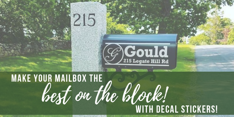 Make Your Mailbox the Best one on the Block with a Custom Decal
