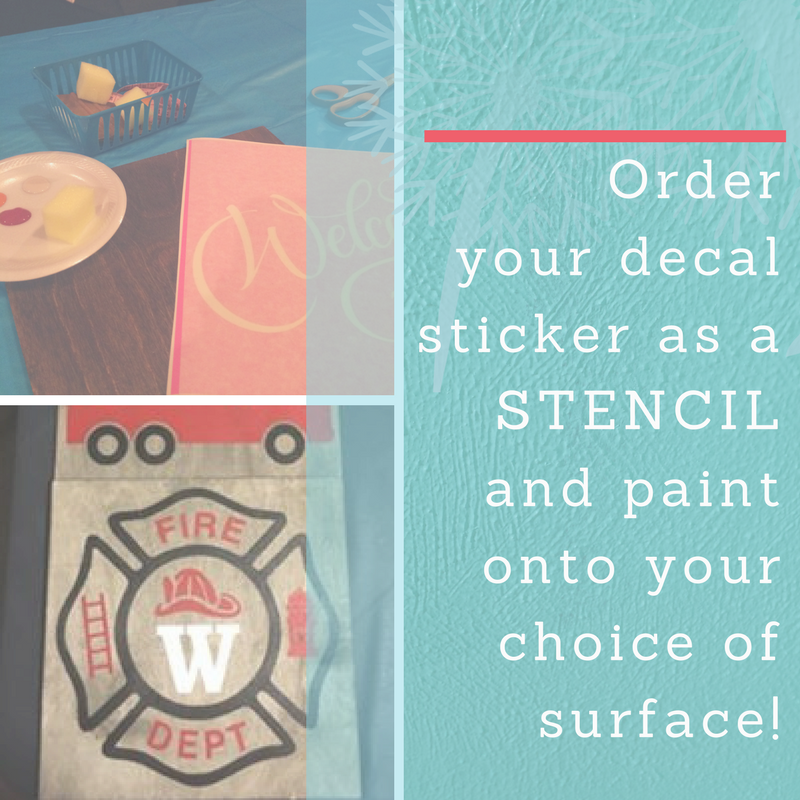 Imperfection is Beauty - Using Stencils in Home Decor