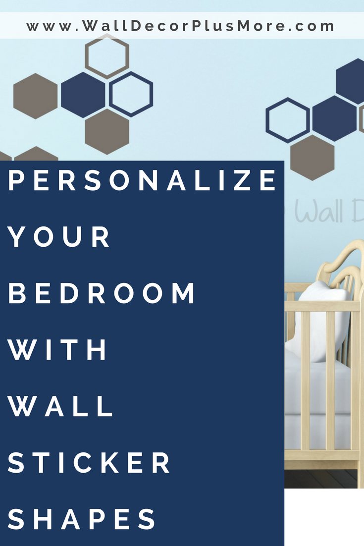 Personalize Your Bedroom with Wall Sticker Shapes