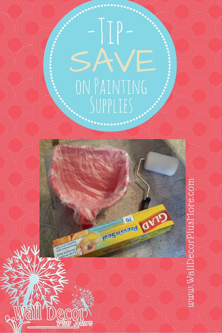 Painting Tip - Save on Painting Supplies