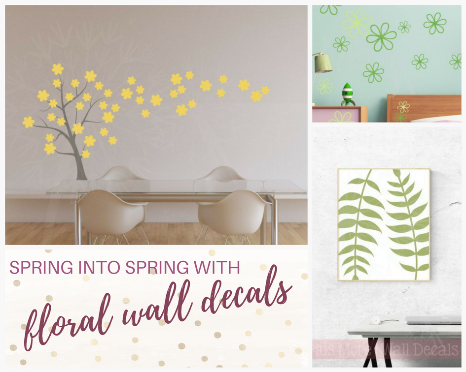 Spring Into Spring With Floral Wall Art