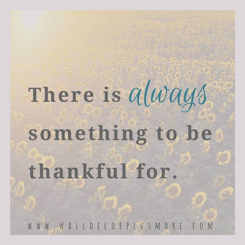 Gratitude + Inspiration with Wall Decals