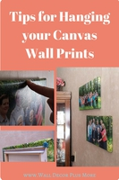 Tips For Hanging Your Photo Canvas Prints on the Wall