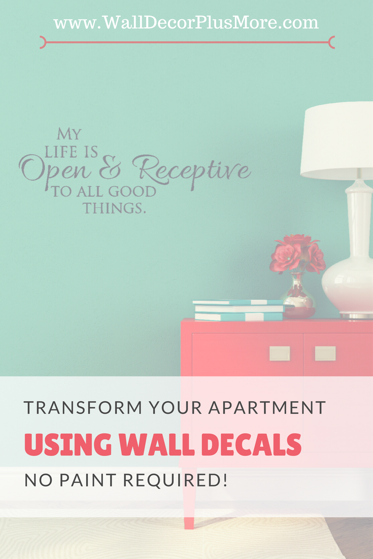 Transform Your Apartment or Rental Home With Wall Decals