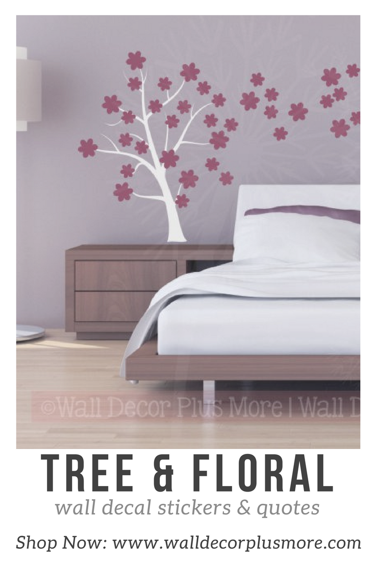Freshen Up a Girl's Room with Floral Wall Stickers