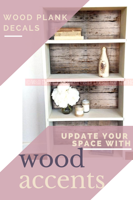 Update Your Space with Wood Accents