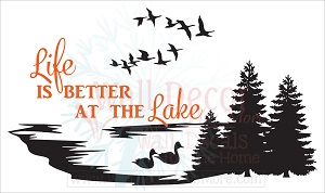 Love the Water? Make Your Home Away From Home Cozy with These RV Wall Decals