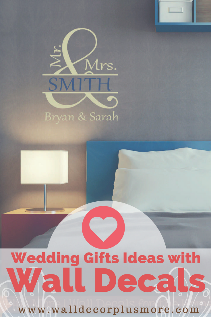 Give the Gift of Love with Custom Wedding Decals