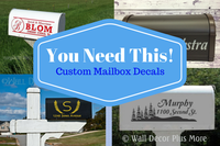 The simplicity and value of Custom Mailbox Lettering: You Need This!