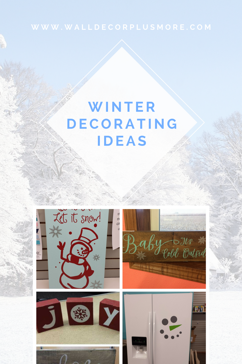 Home Winter Wonderland Decor & Crafts