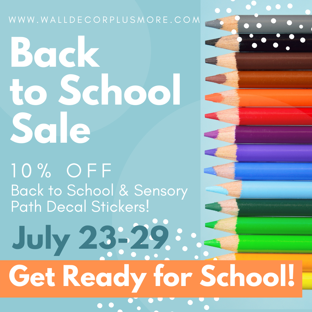 Back to School Wall Decor Sticker Quotes Sale - 10% off all stickers in this category!