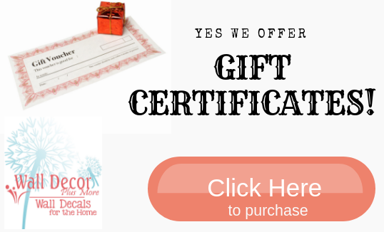 Yes! We offer gift certificates! Click here to learn more!