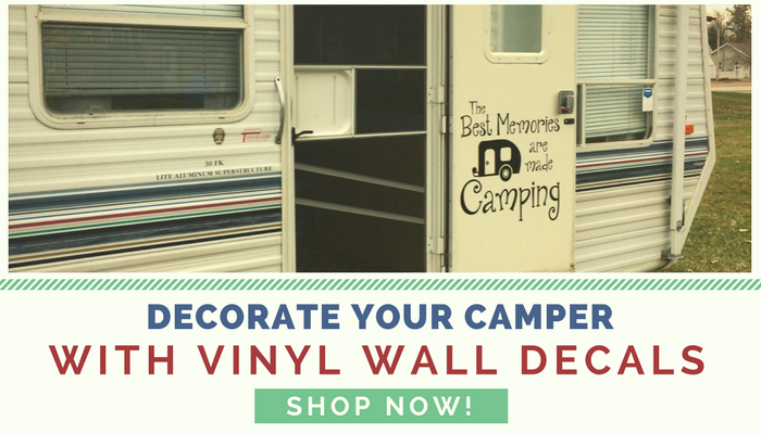 Decorate Your Camper with Wall Decals - Show NOW!