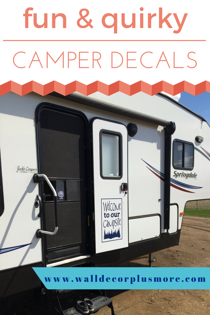 Camper Decals | Personalized RV Camper Wall Decor & Quotes | $0 Ship