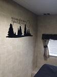 Old Spark Love Camper RV Motorhome Bedroom Wall Decor