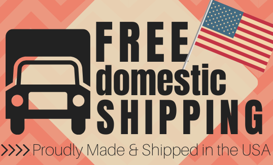 Shipping is always free! Click here for more details.