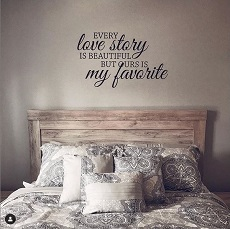 Bedroom & Love Wall Decals Quotes