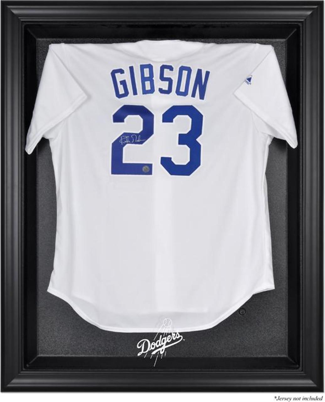 a90e6524240 Black Framed MLB Dodgers Jersey Display Case