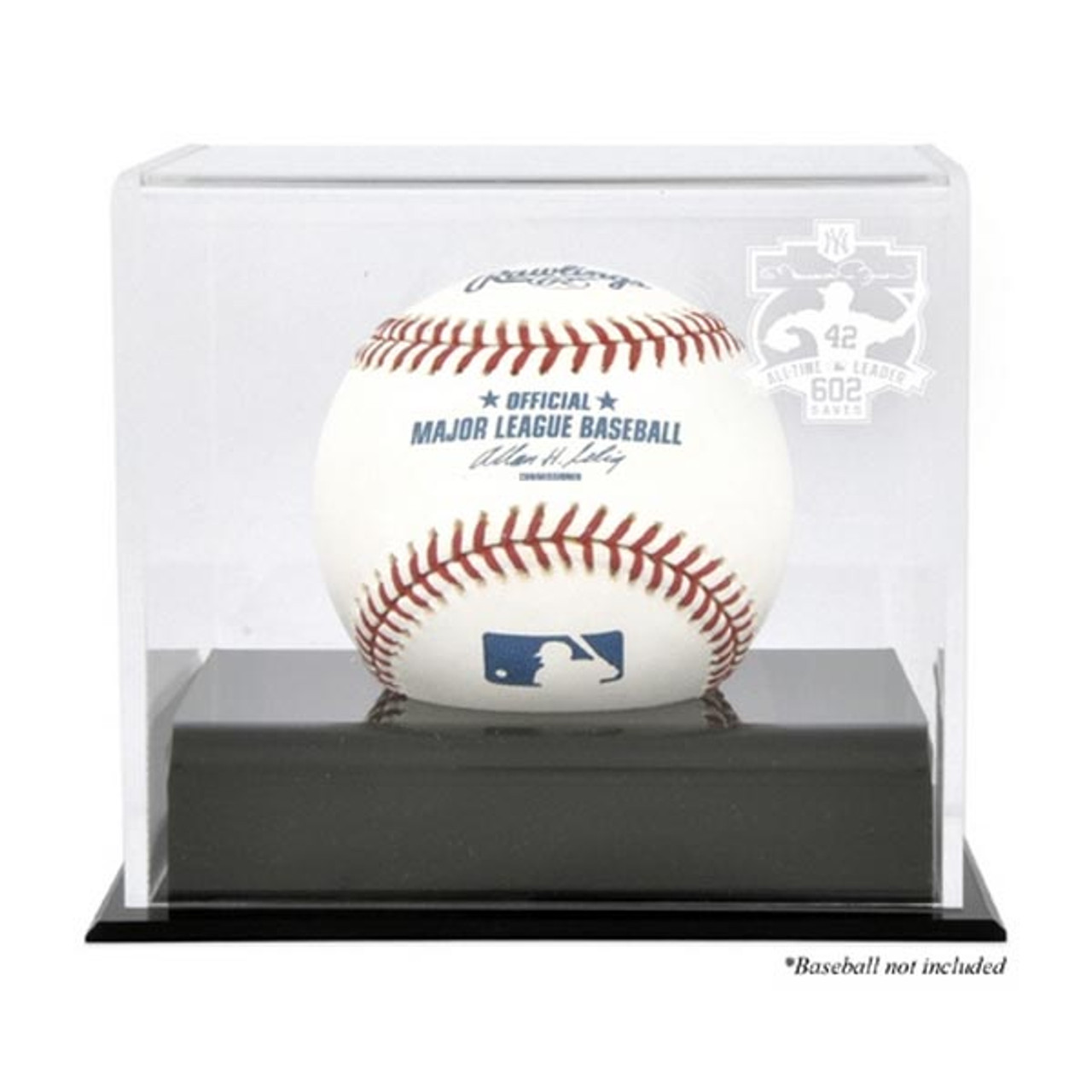 c90e2152349 Deluxe MLB Baseball Cube Mariano Rivera 602 Saves Display Case ...