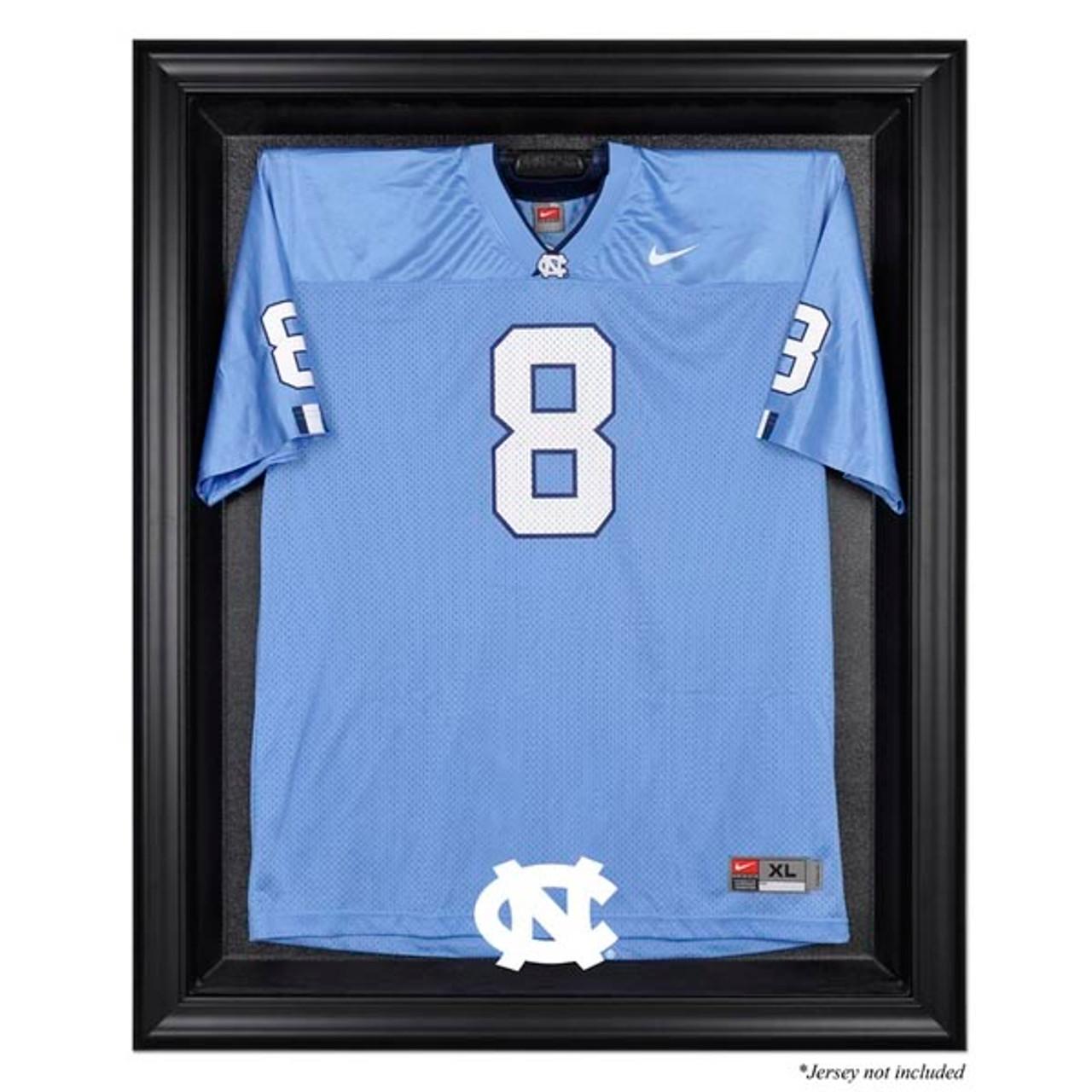 on sale 2eed9 bdbbb North Carolina Tarheels Black Framed Jersey Display Case