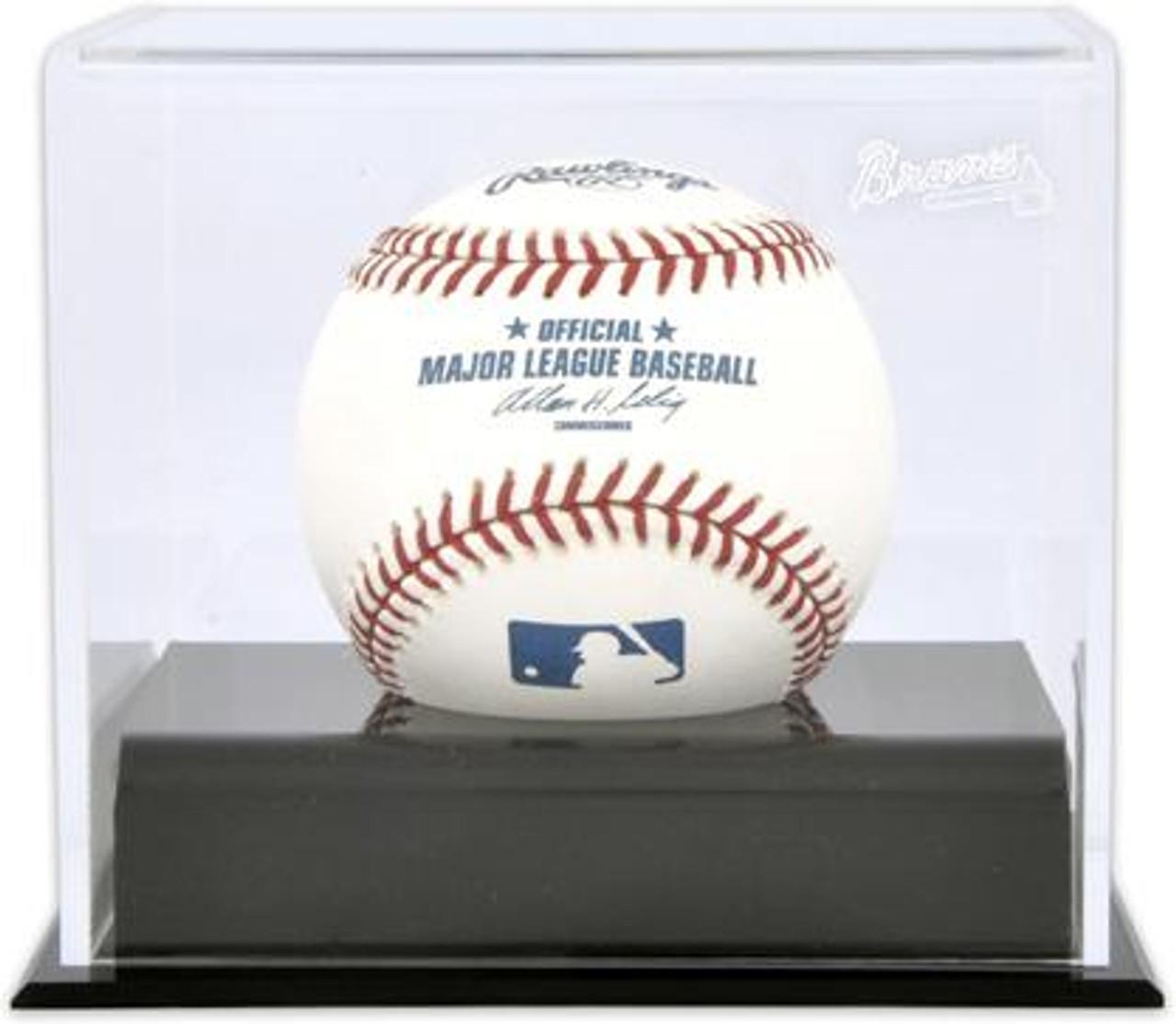 fd5e0626416 Deluxe MLB Baseball Cube Braves Display Case