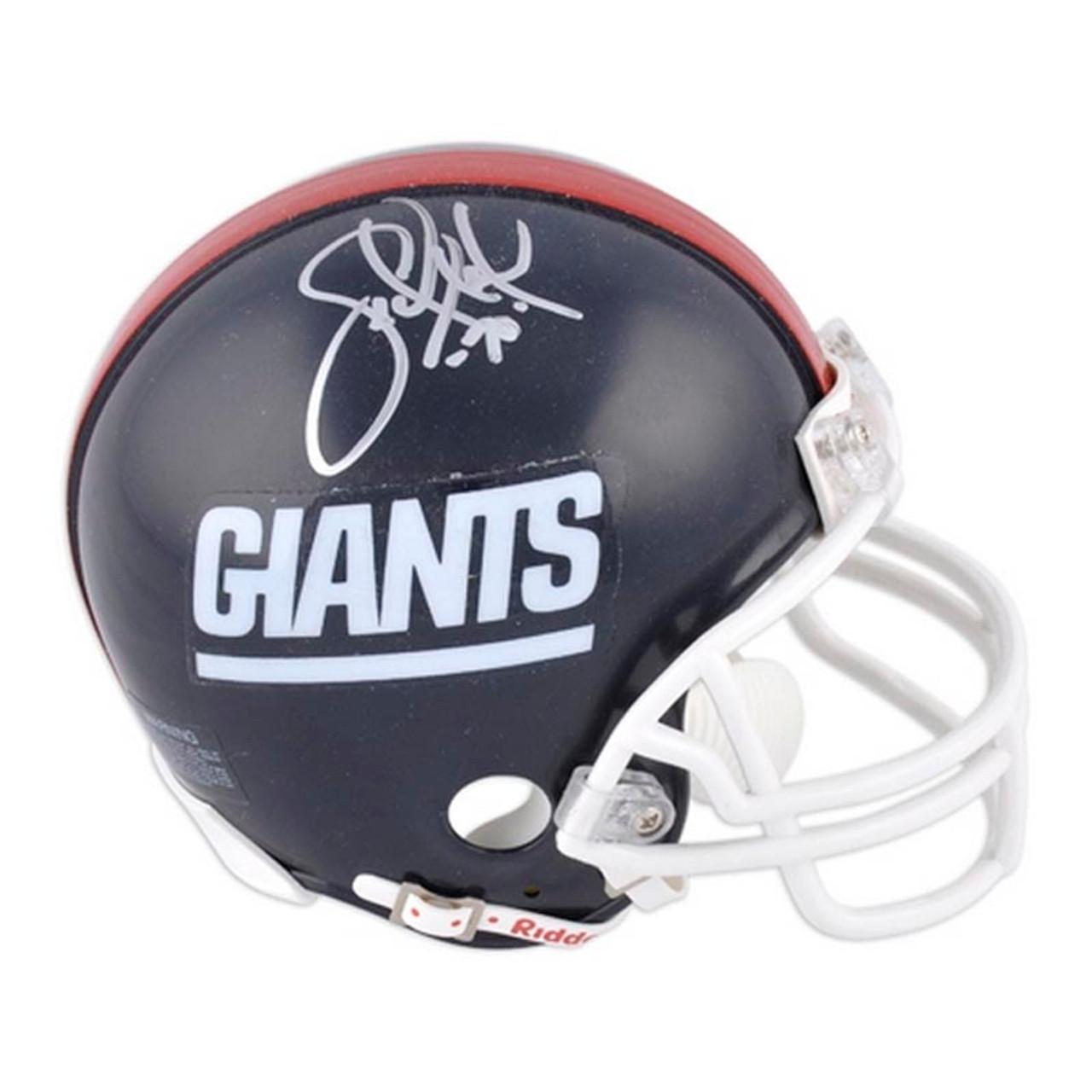 f542774ab New York Giants Leonard Marshall Autographed Mini Helmet