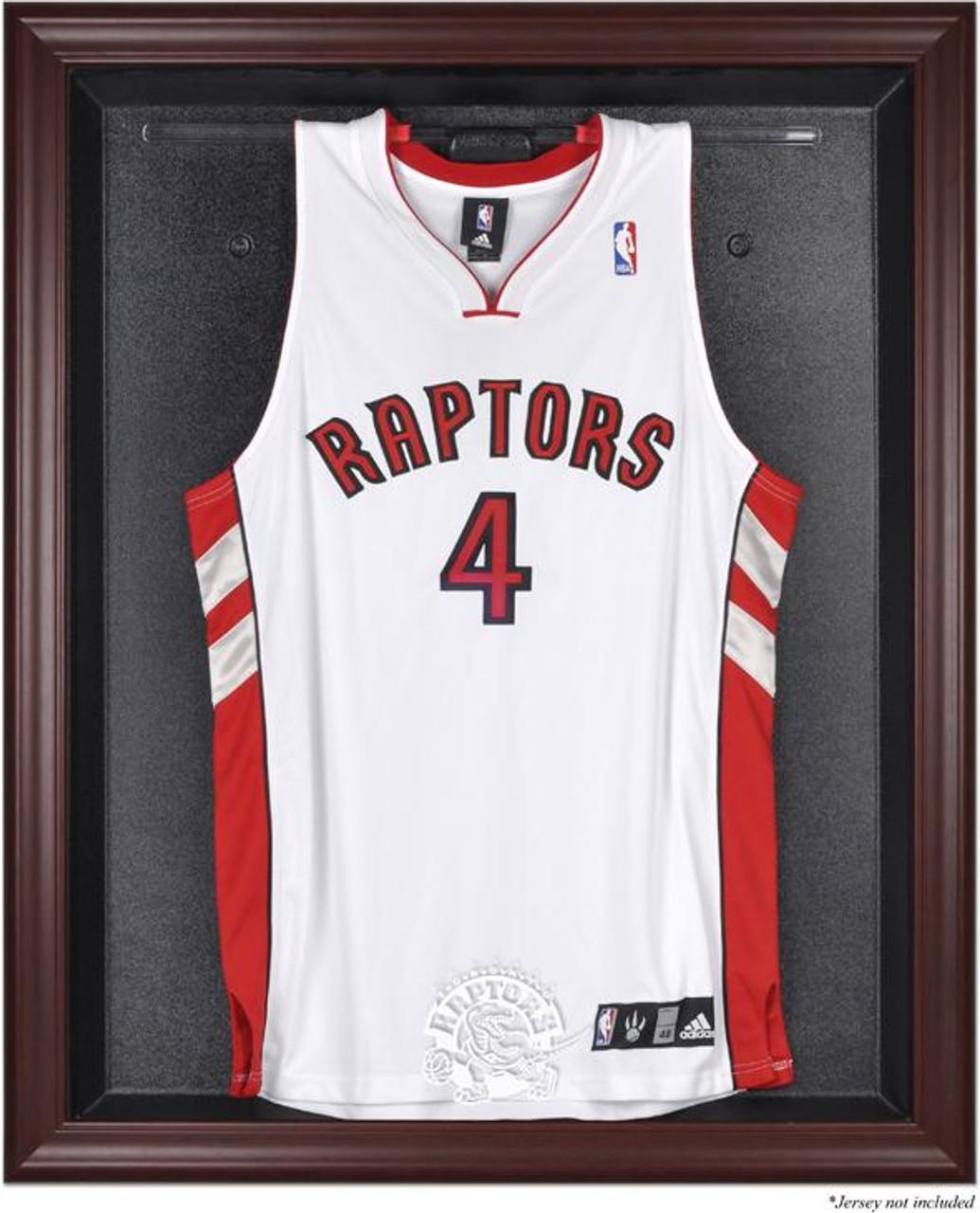 size 40 05ee6 0230a Toronto Raptors Mahogany Framed Jersey Display Case