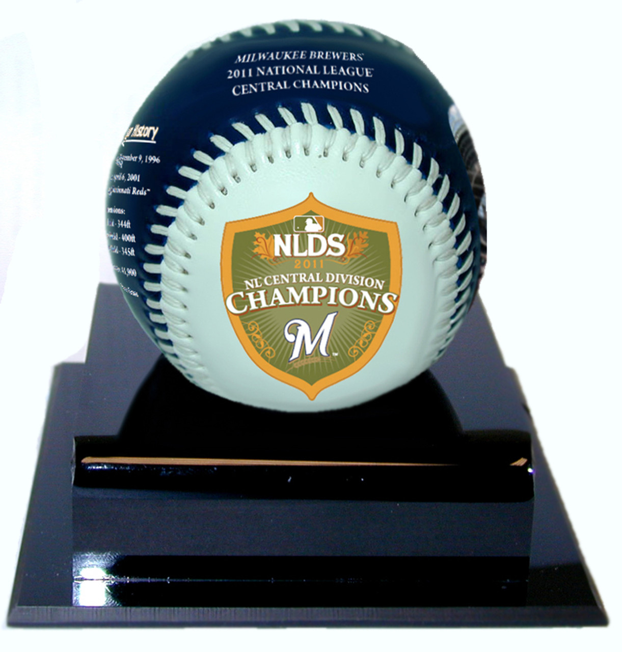 c08a5771 Milwaukee Brewers 2011 National League Championship Series Appearance  Baseball