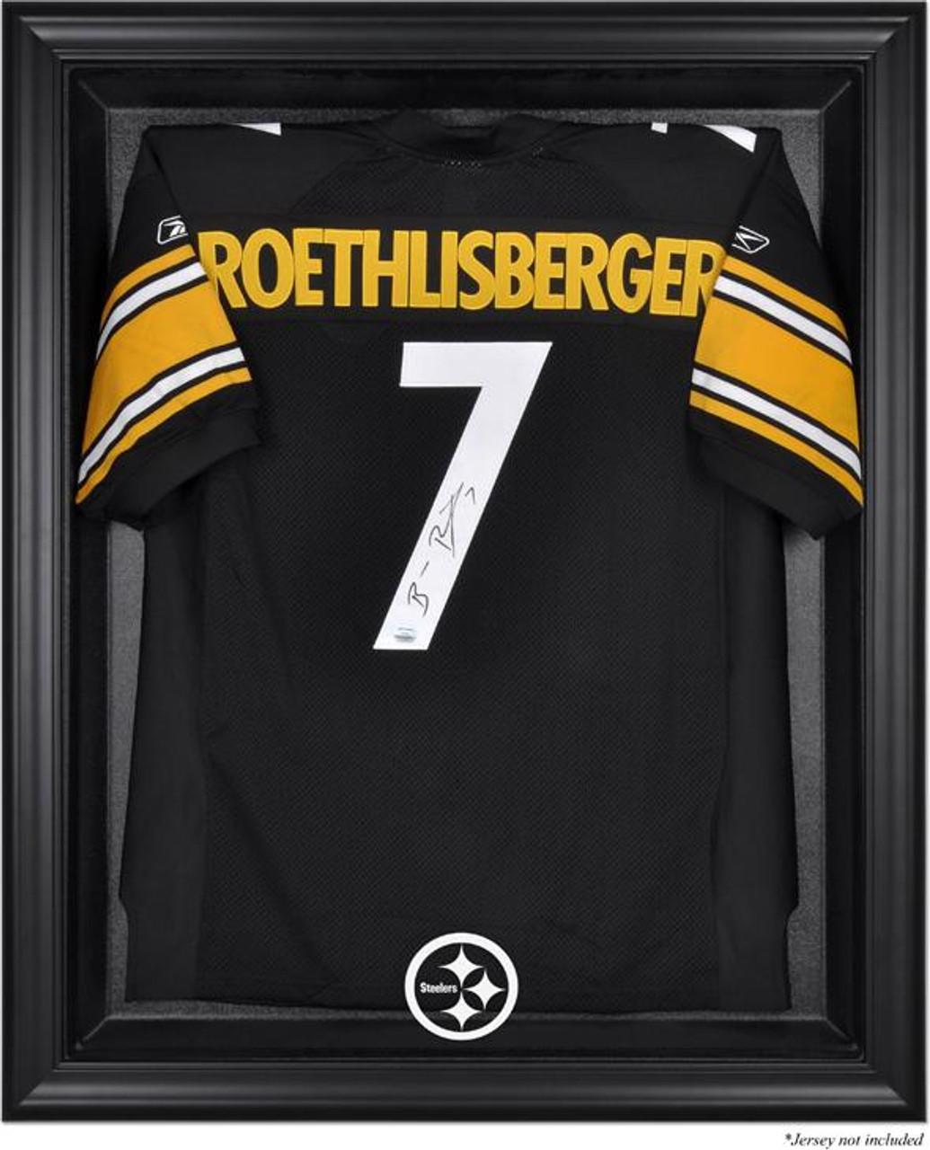 sale retailer 98ea7 e6b90 Black Framed Steelers Jersey Display Case