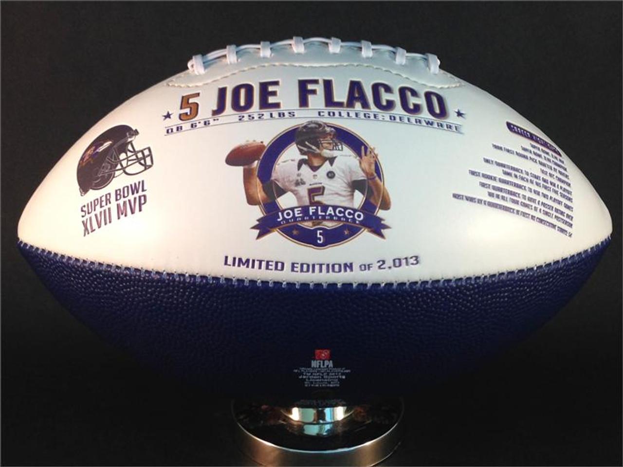 e901c36da97 Joe Flacco Super Bowl MVP & Baltimore Ravens Franchise/Stadium History  Football
