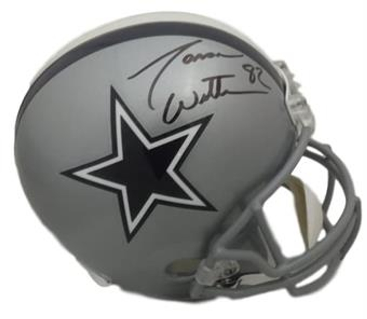 new concept 5f70a df1cc Jason Witten Autographed Dallas Cowboys Replica Helmet