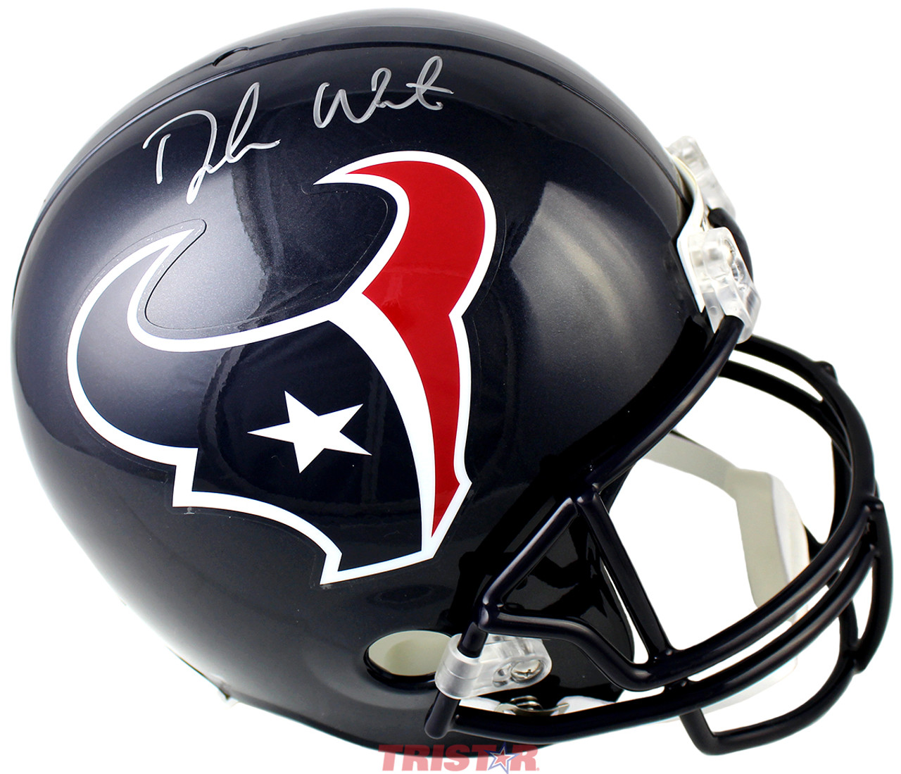 Deshaun Watson Autographed Full-Sized Replica Houston Texans Helmet ... d83e9c89d