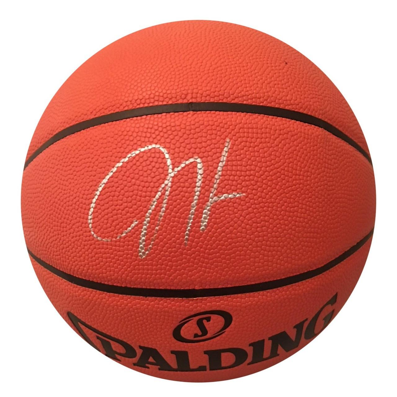 d3447652531f James Harden - 2018 MVP - Autographed I O Basketball